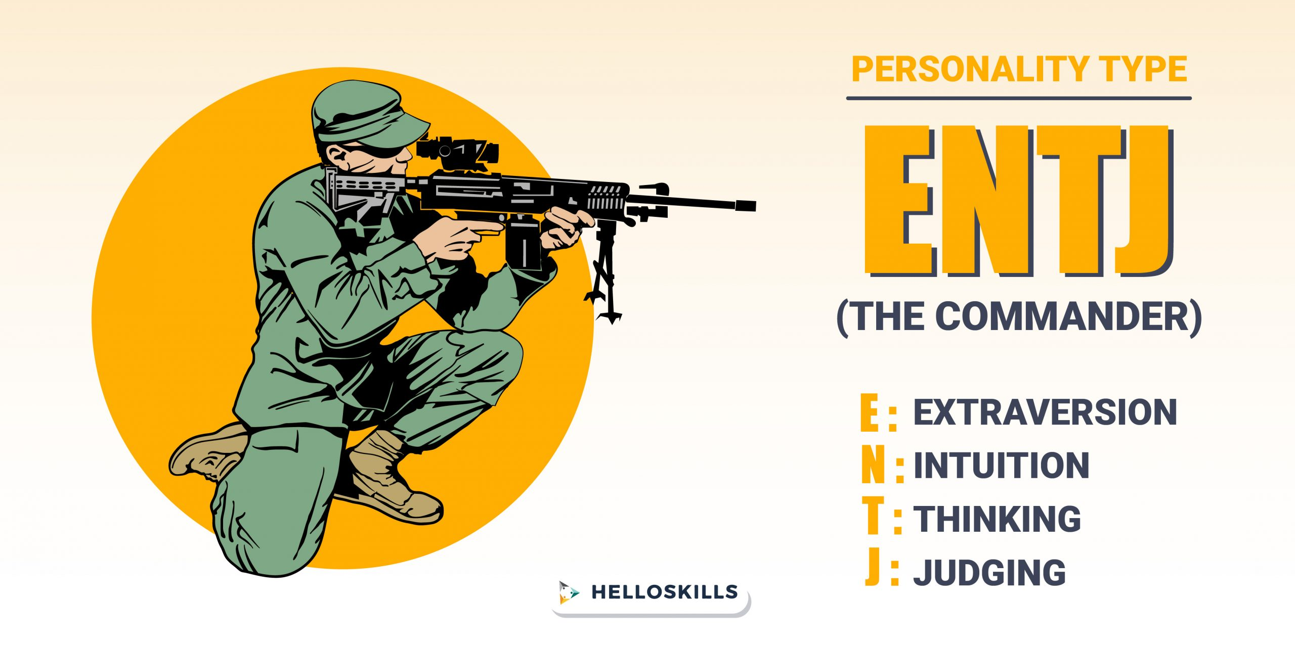 ENTJ- The commander personality